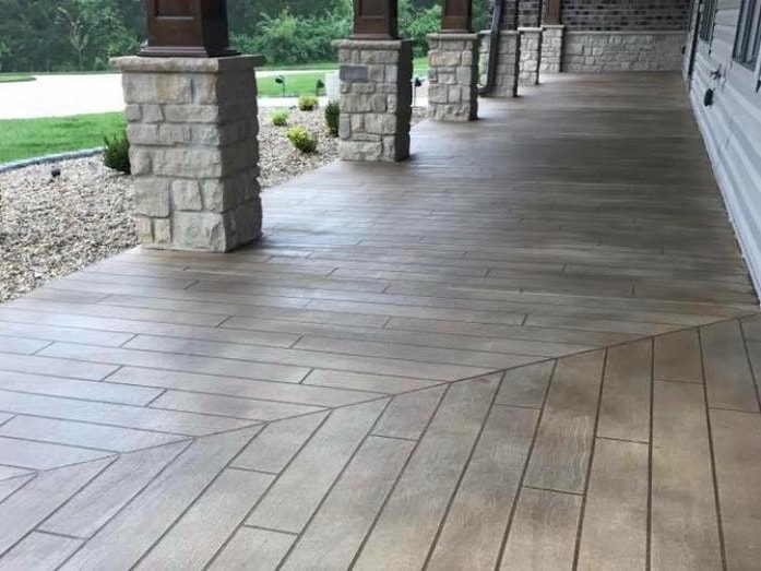 There Are Many Benefits To Choosing Polymer Modified Concrete Overlay Instead Of Real Hardwood In The Long Run This Option Is More Cost Effective Due