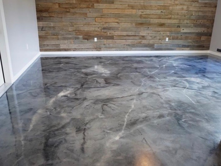 Residential Concrete Flooring Gallery